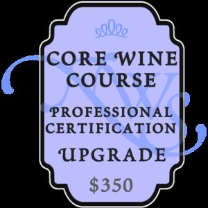 core wine course upgrade