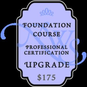 foundation wine course upgrade