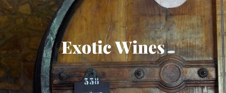 exotic wines1 - Exotic Wines