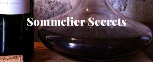 sommelier secrets