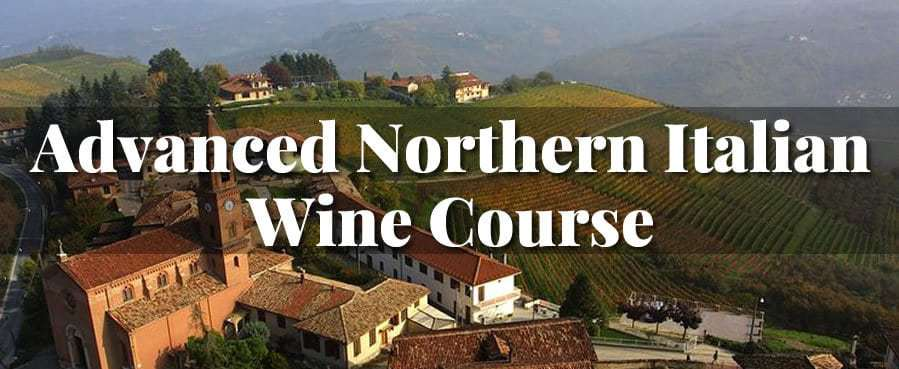 Advanced Northern Italian Wine Course