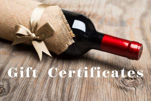 Wine School Gift Certificate