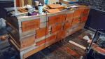building the teachers desk 1