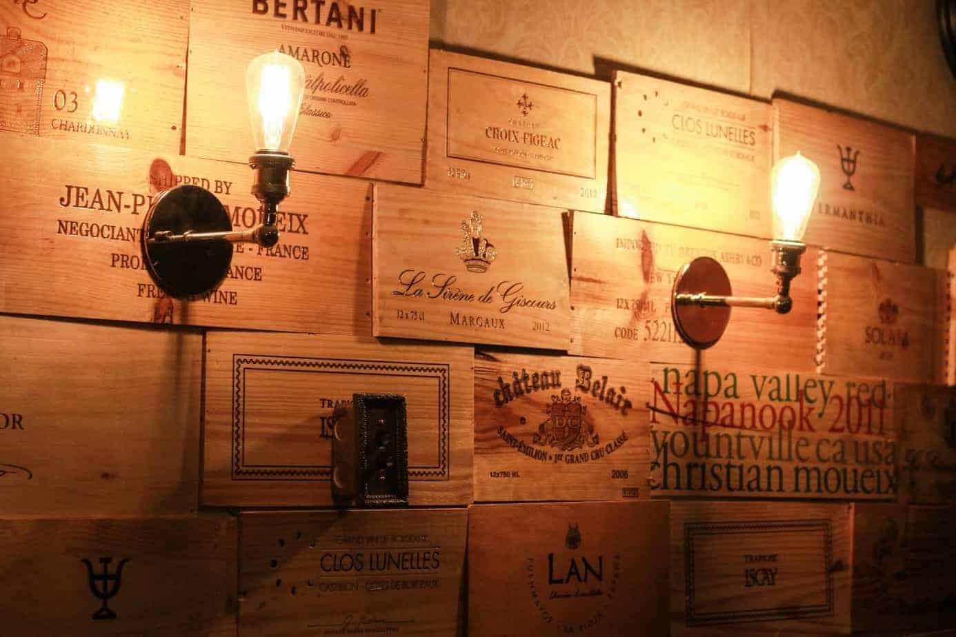 Vintage Wine Boxes