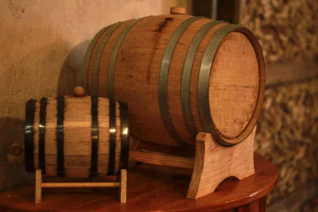 Wine Barrels at Vinology