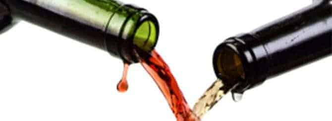 blending red and white wine