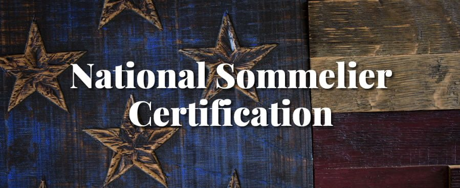 national sommelier certification
