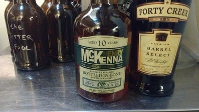 Whiskeys at the PLCB