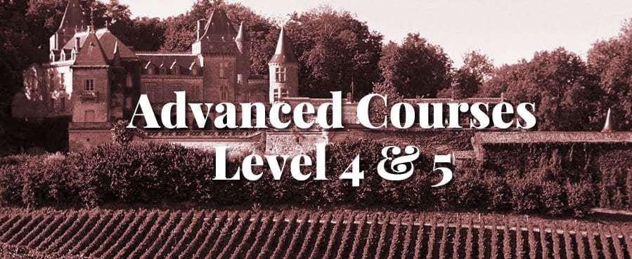 Advanced Wine Courses