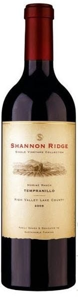 "Shannon Ridge 2012 ""Single Vineyard Collection"" Tempranillo"