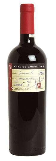Consejo de la Alta 2011 Cata de Consejero, Rioja