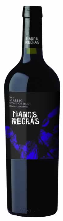 "Manos Negras 2011 ""Stone Soil Select"" Malbec Reserve, Patagonia"