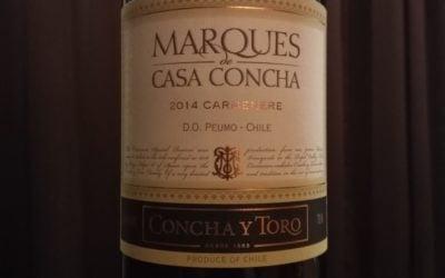 Marques de Casa Concha 2014 Carmenere, Peumo