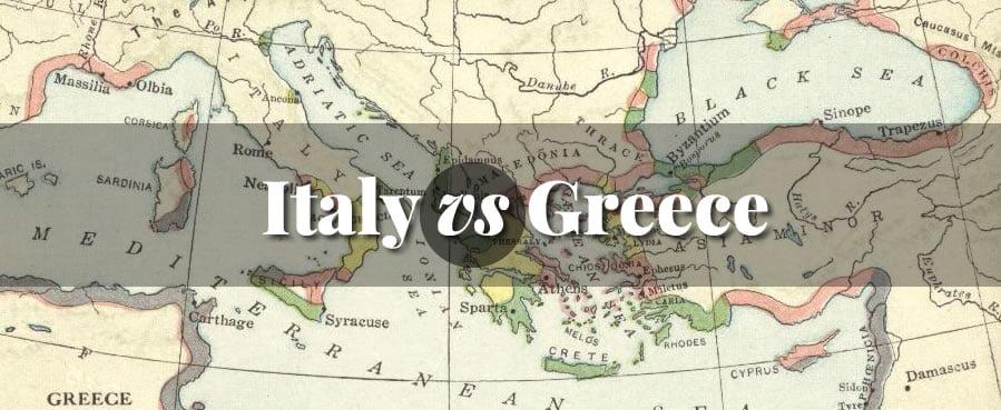 Italy vs Greece