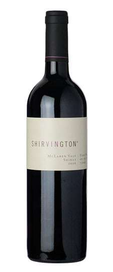 Shirvington 2010 Shiraz, McLaren Vale