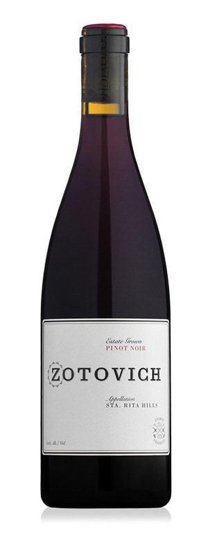 Zotovich Estate 2013 Pinot Noir Santa Rita Hills