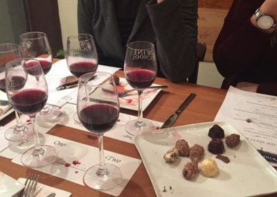 A Wine and Chocolate Class