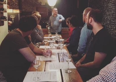 Keith Teaching a Wine 101 Class