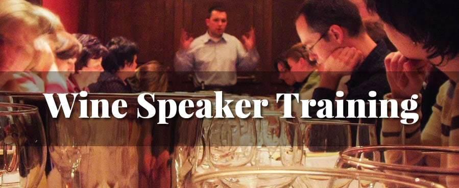 wine speaker training