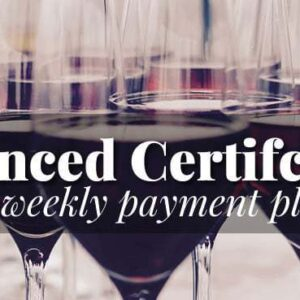 advanced wine program payment plan
