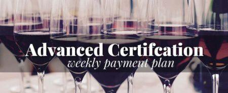 advanced wine program payment plan