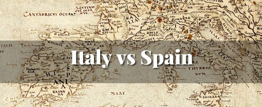 Italy vs Spain Wine Class