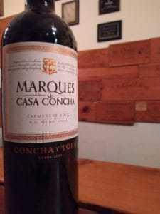"Concha y Toro 2015 ""Marques de Casa Concha"" Carmenere"