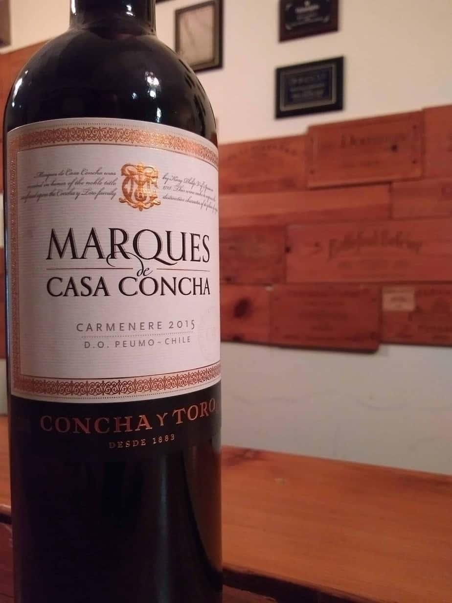 Concha Y Toro 2015 Marques De Casa Carmenere