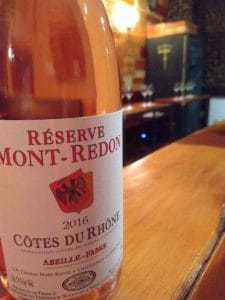 Reserve Mont Redon 2016 Cotes du Rhone Rosé