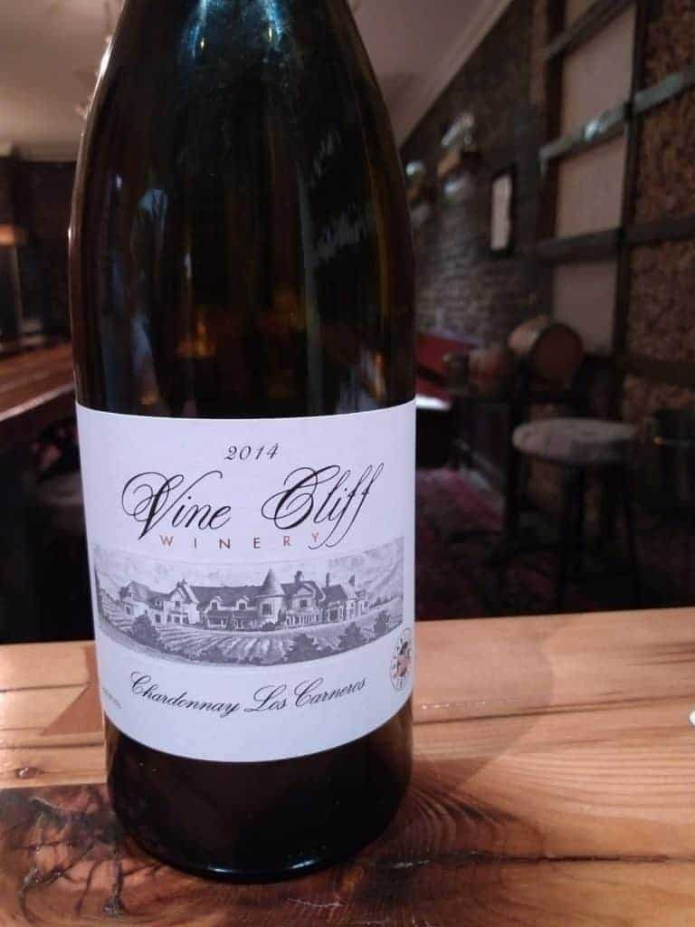 Vine Cliff Winery 2014 Chardonnay Los Carneros