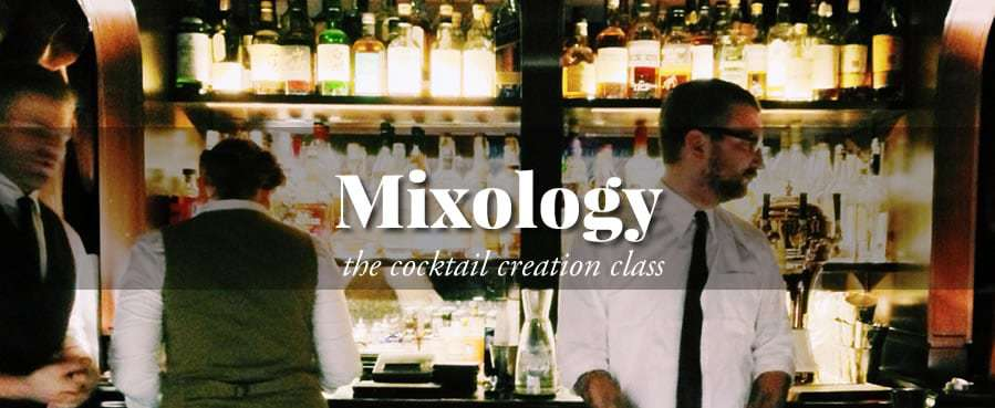 Mixology: The Cocktail Creation Class (In-Person)