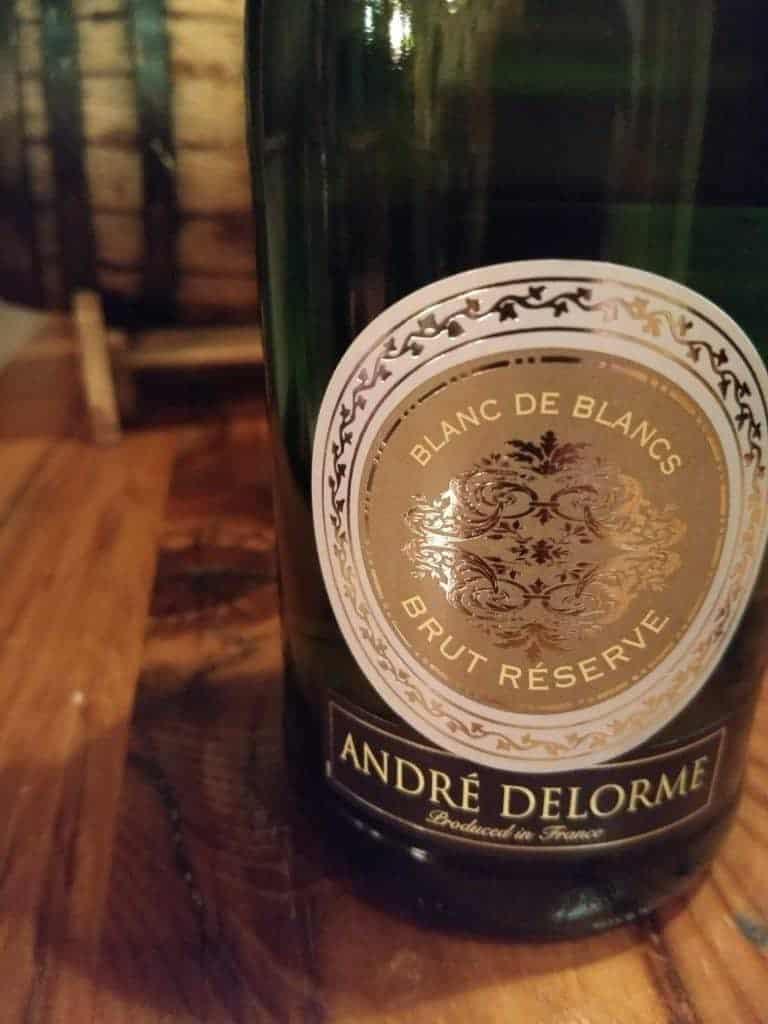 Andre Delorme Blanc de Blancs Brut Reserve, Burgundy