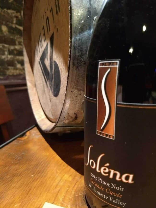 "Soléna Estate 2015 ""Grande Cuvee"" Pinot Noir, Willamette Valley"