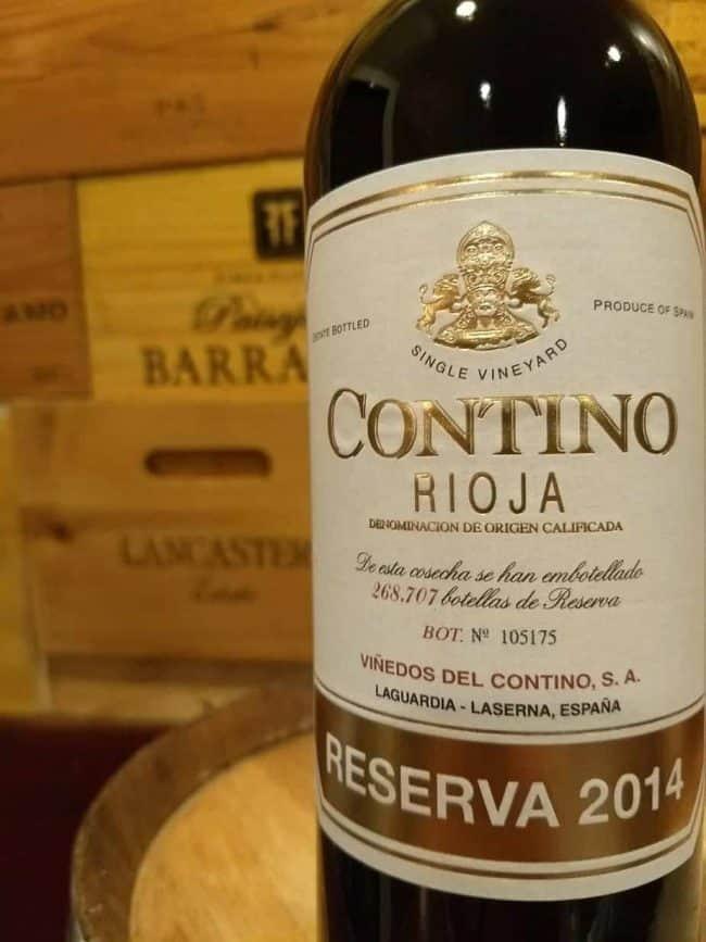 Contino 2014 Rioja Reserva