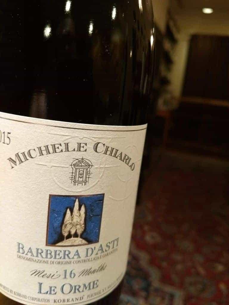 """Michele Chiarlo 2015 """"Le Orme"""" Barbera d'Asti"""