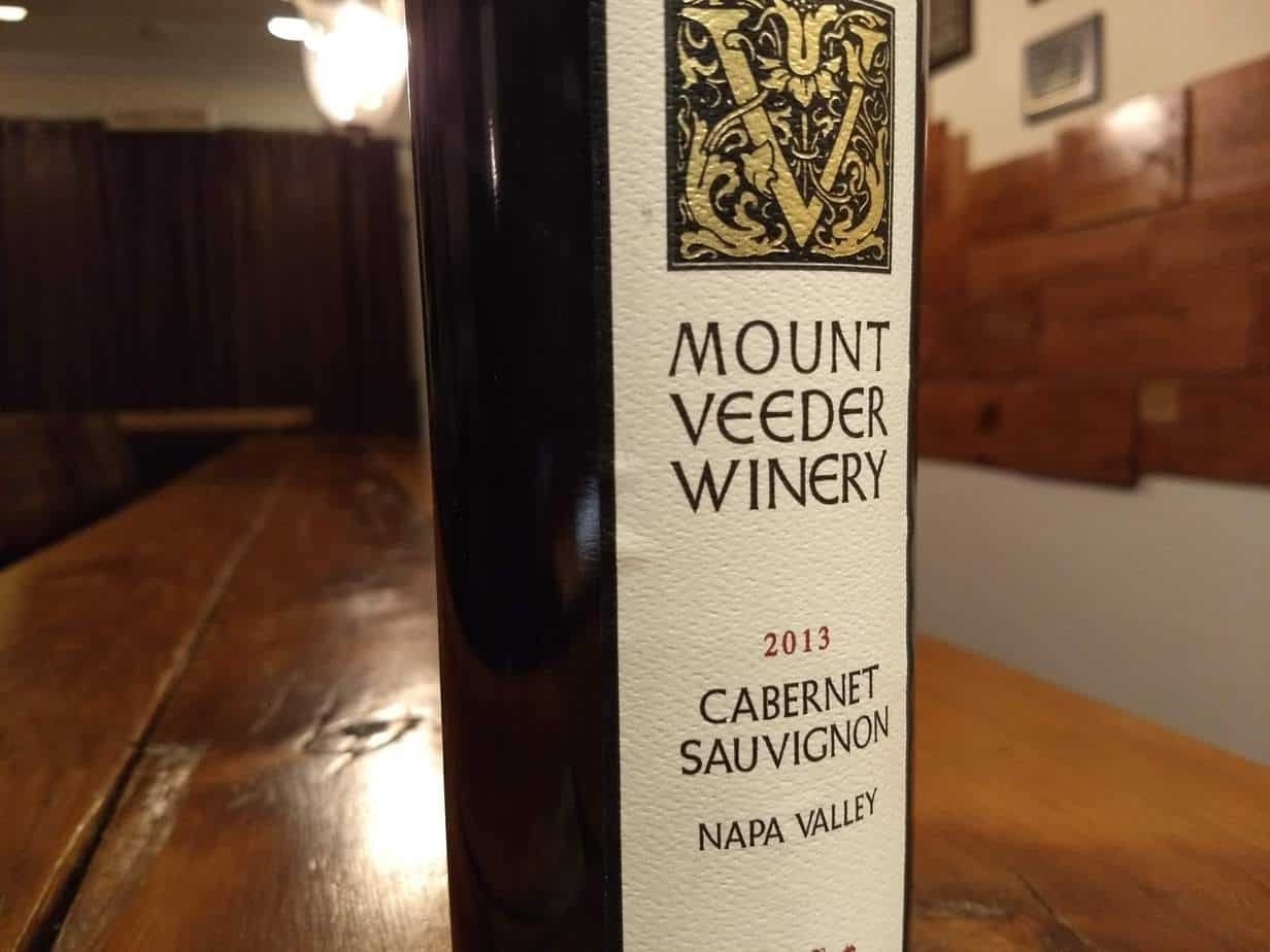 Mount Veeder Winery 2015 Cabernet Sauvignon, Napa Valley