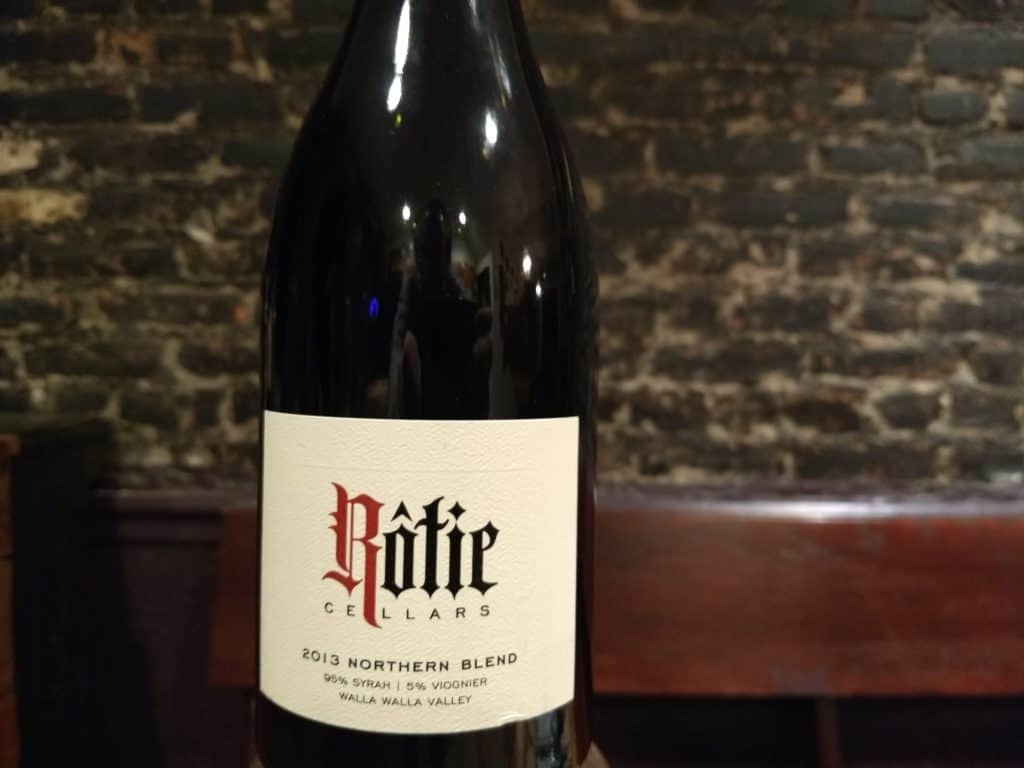 "Rotie Cellars 2013 ""Northern Blend"" Red, Walla Walla"