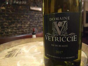 Domaine Vetriccie 2017 White, Ile De Beaute