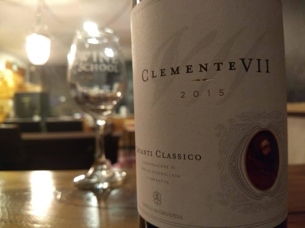 """Castelli del Grevepesa 2015 """"Clemente VII"""" Chianti Classico"""