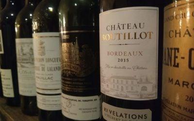 """Chateau Boutillot  2015 """"Revelations d'Hubert de Bouard"""" Bordeaux"""