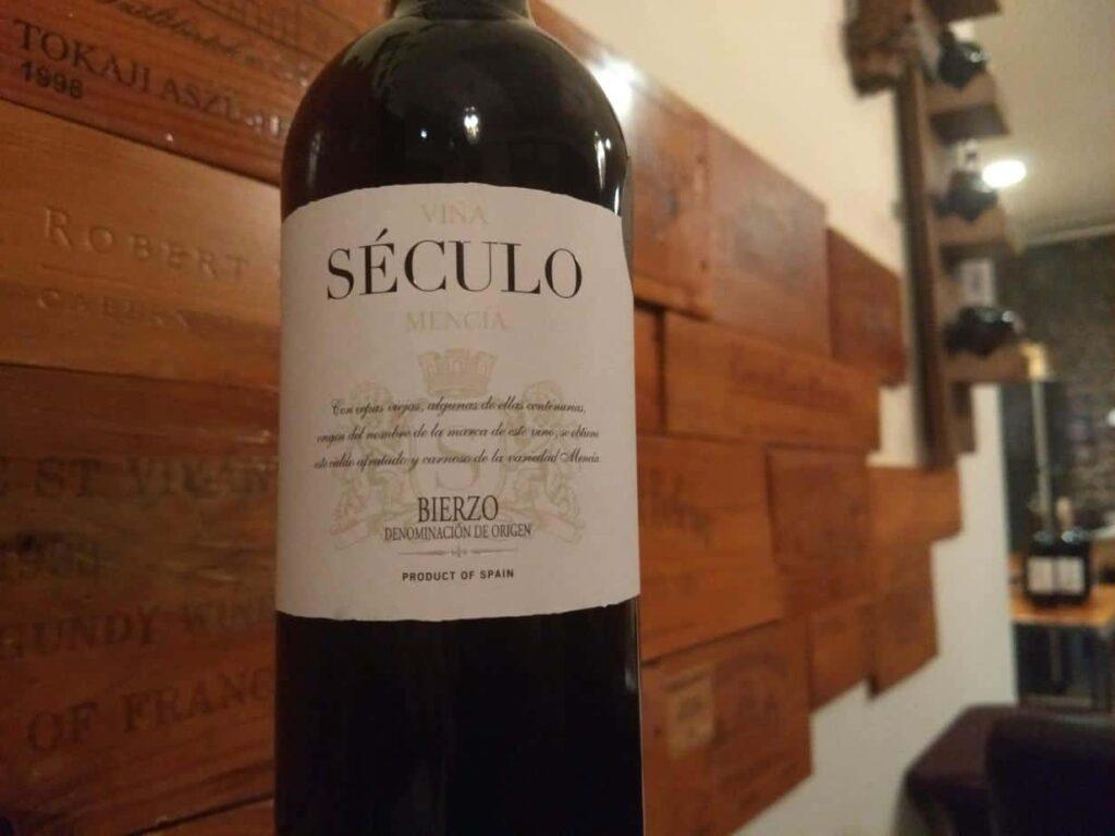 """Vinos de Arganza 2015 """"Seculo"""" Mencia, Bierzo"""