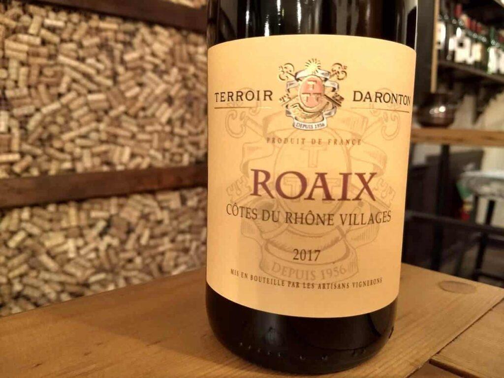 Terroir Daronton 2017 Côtes du Rhône Villages Roaix