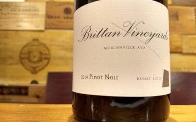 """Brittan Vineyards  2014 """"Basalt Block"""" Pinot Noir, McMinnville"""
