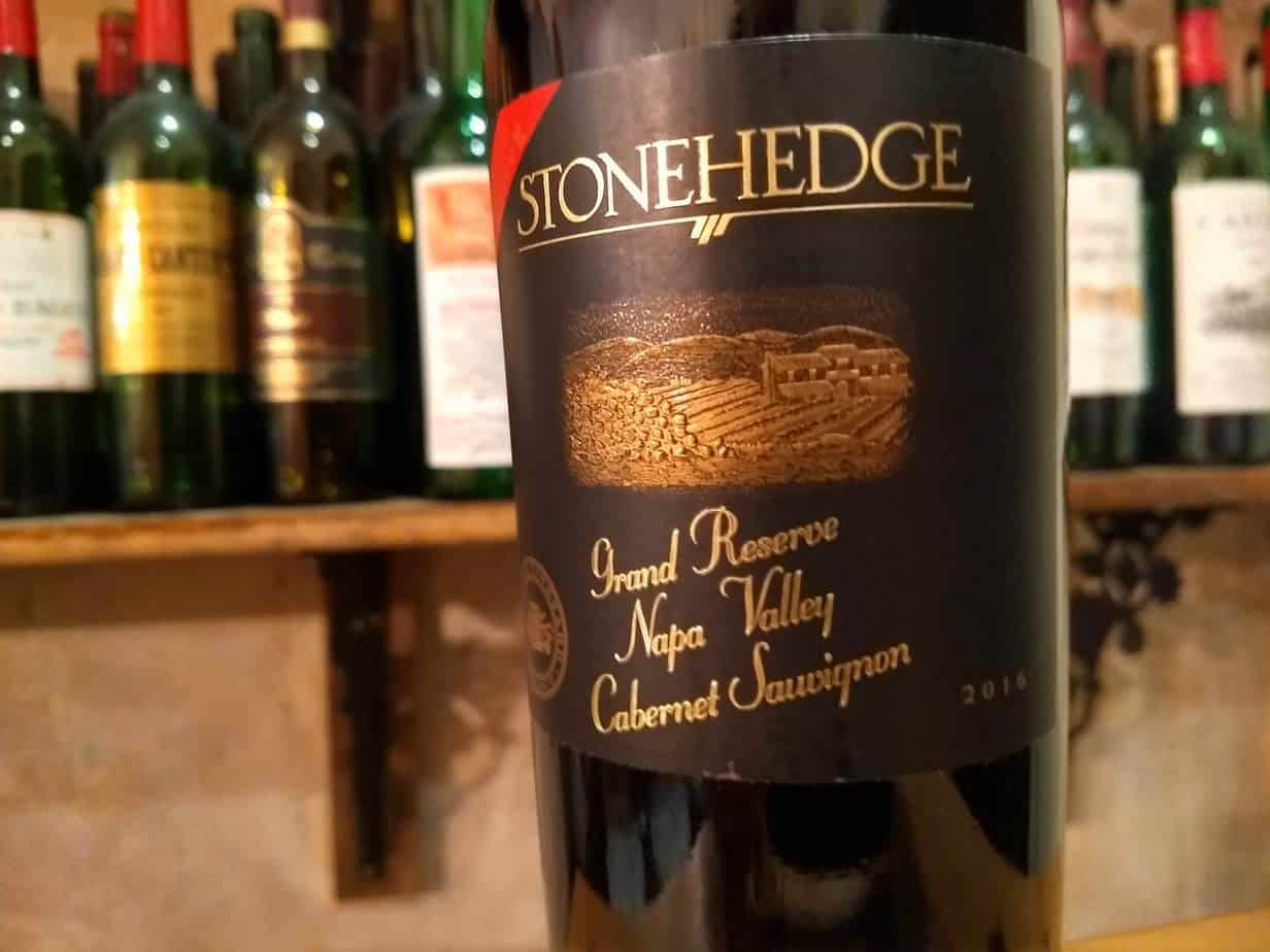 Stonehedge 2016 Cabernet Sauvignon Napa Valley Grand Reserve
