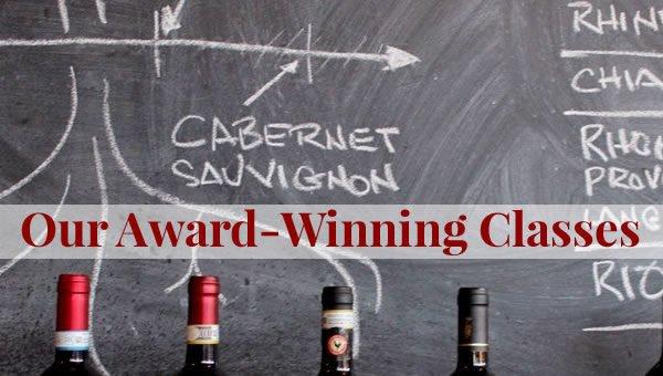 Tasting Classes at the Wine School