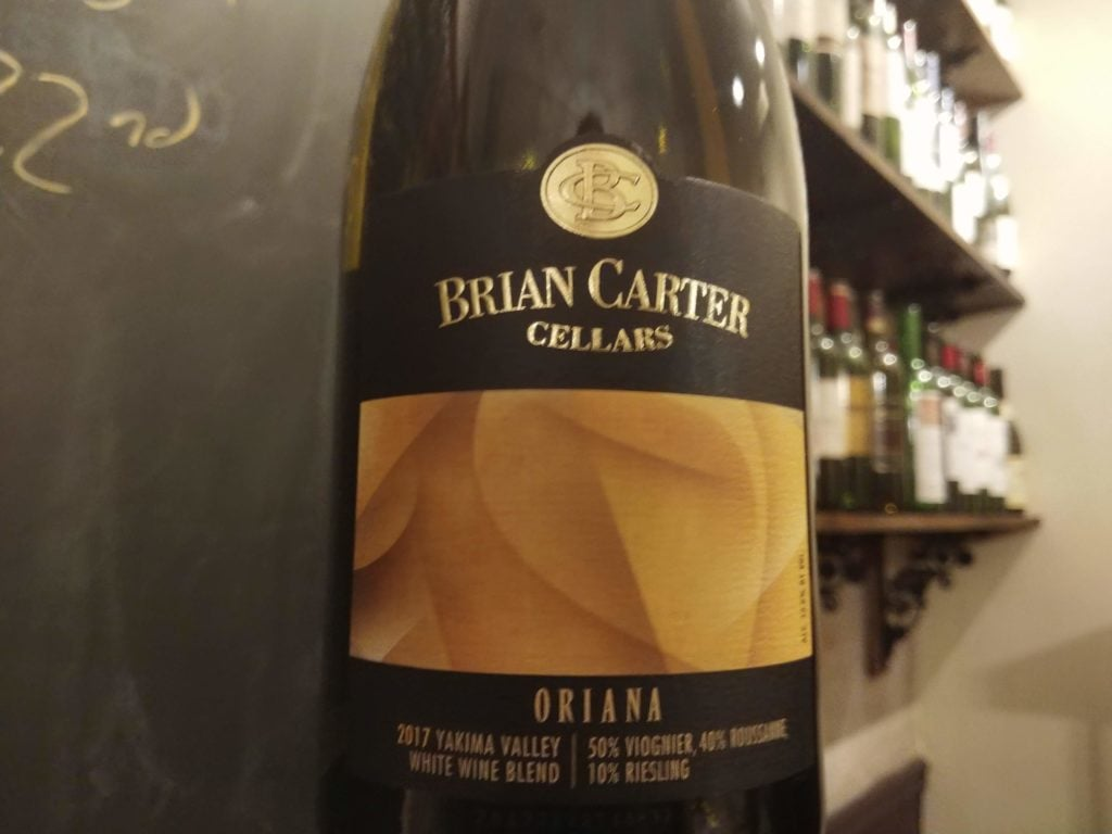 "Brian Carter Cellars 2017 ""Oriana"" White, Yakima Valley"