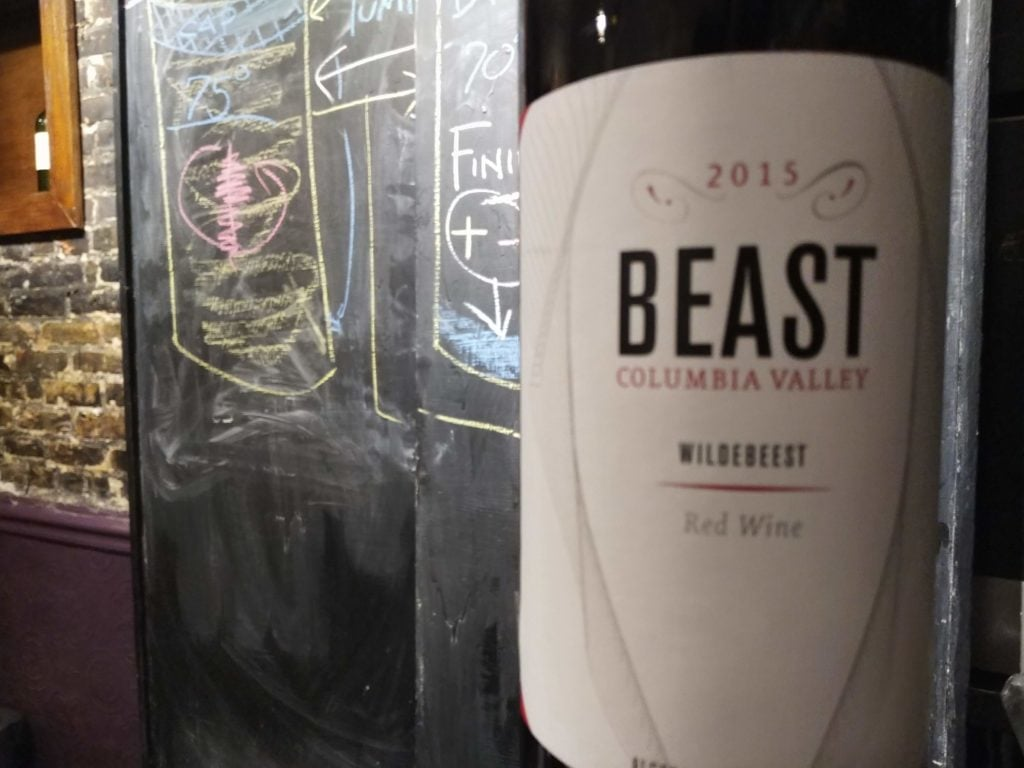 "Beast 2015 ""Wildebeest"" Red, Columbia Valley"