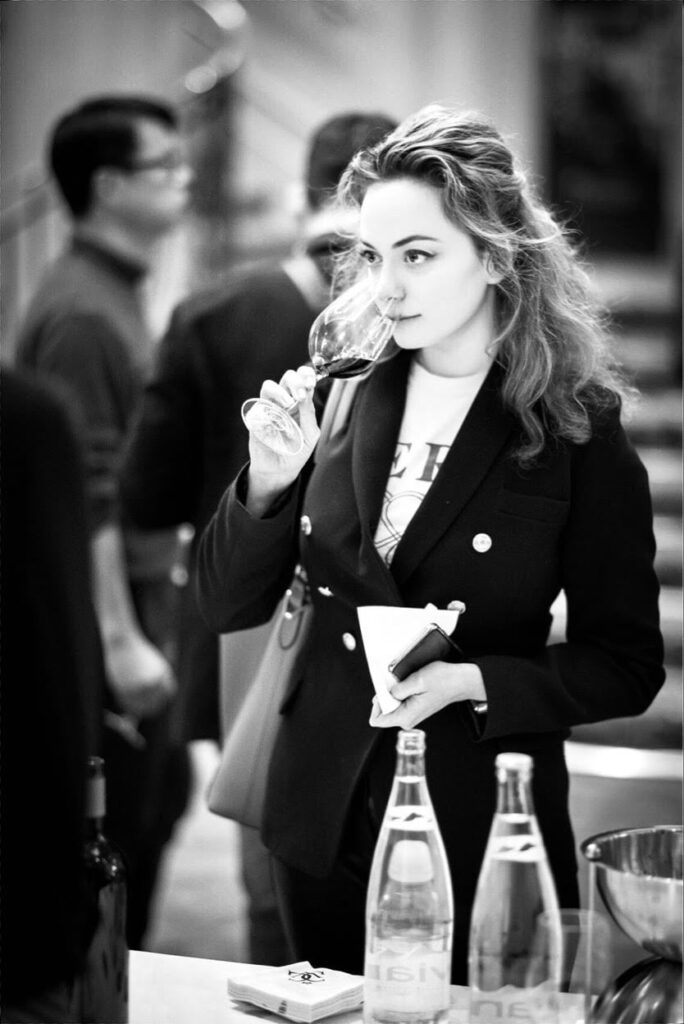 Sommelier classes with Gabrielle Vizzavona wine critic