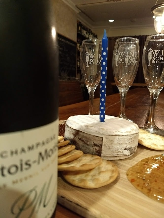 Champagne and Cheese Pairing