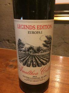 "Amalthea Cellars ""Europa 1 "" Bordeaux blend"